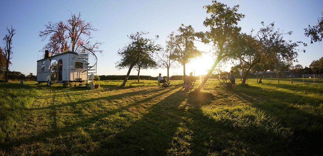 Review: The Glamping Orchard in the Cotswolds