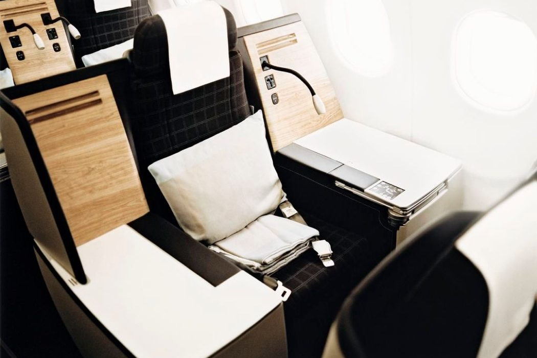 Swiss Air Lines A340 Business Class Review Zurich to Sao Paulo