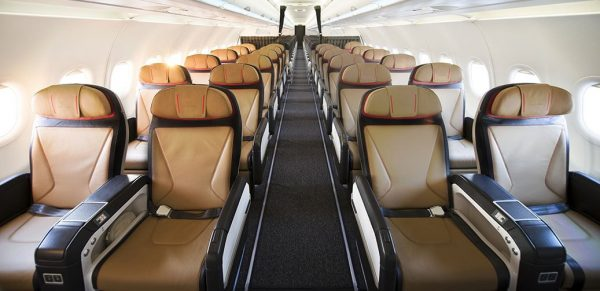 Flight Review: South African Airways New Short-Haul Business Class Seat