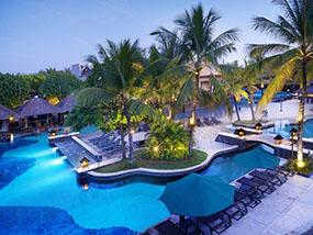 2 nights at the Hard Rock Hotel Bali, Kuta, Bali, Indonesia