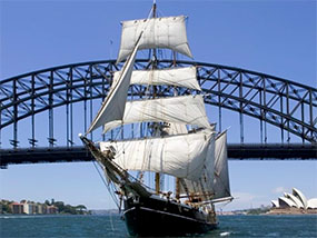 Afternoon Discovery Cruise for 4 with Mast Climb, Sydney