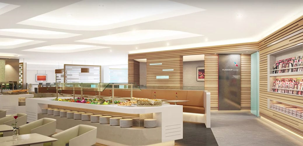Review: American Airlines New Flagship Airport Lounge New York JFK