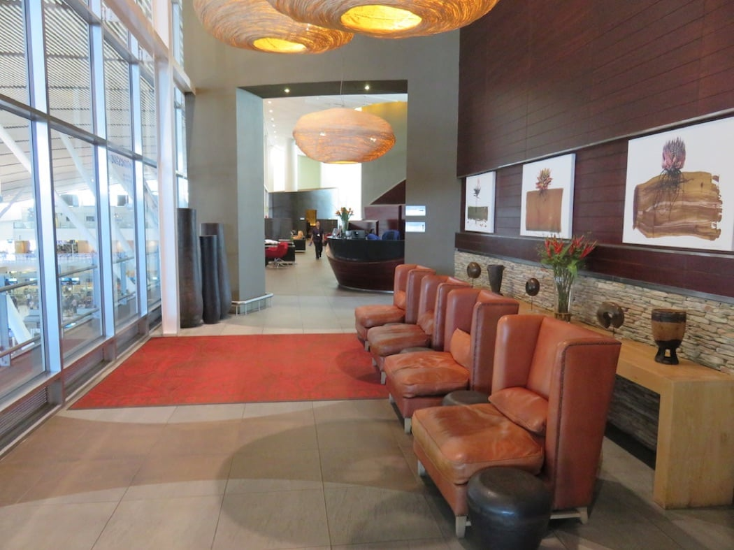Review: South African Airways Business Class Lounge in Cape Town