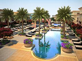 5 nights at Al Seef Resort & Spa by Andalus, Abu Dhabi, UAE