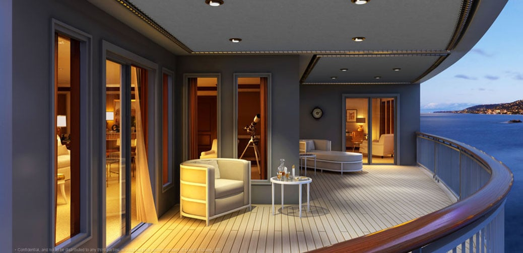 Utopia - A New Five-Star Residential Cruise Liner Set To Rival The World