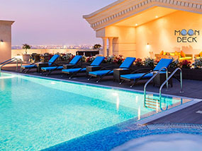 2 nights at the Five-Star Warwick Doha Hotel in Doha, Qatar