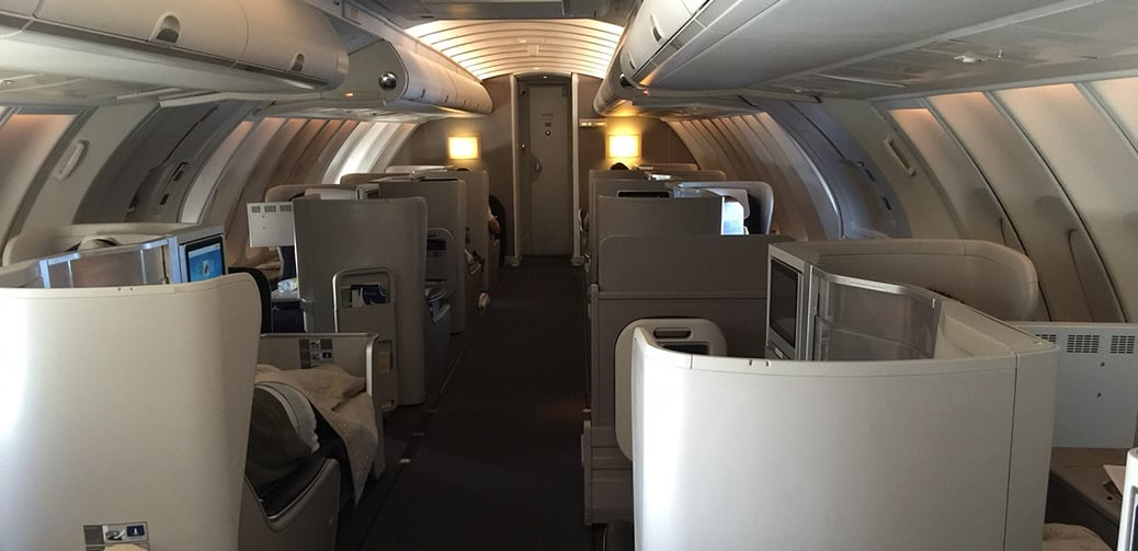 Flight review british airways business class upper deck for World class photos pictures