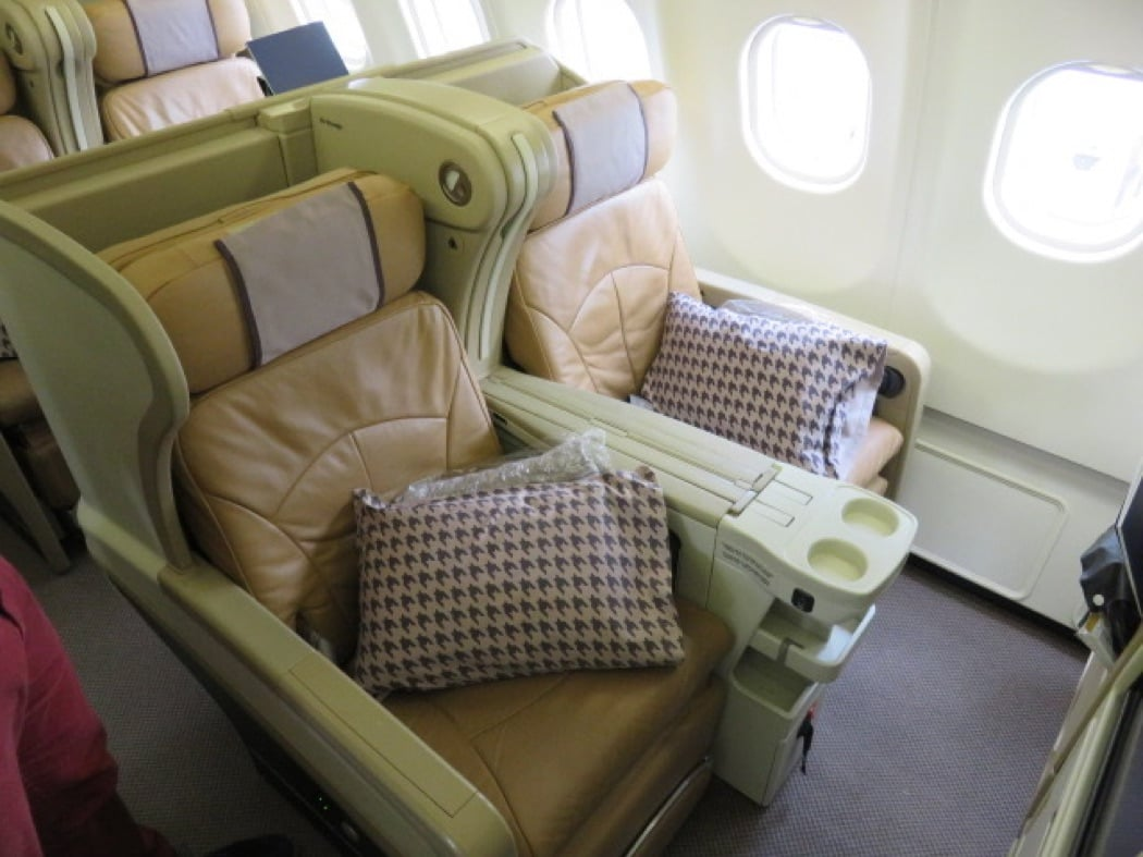 Flight Review: Singapore Airlines A330 Business Class