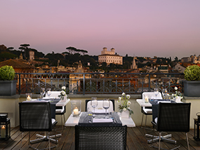 1 Night at The First Luxury Art Hotel in Rome, Italy