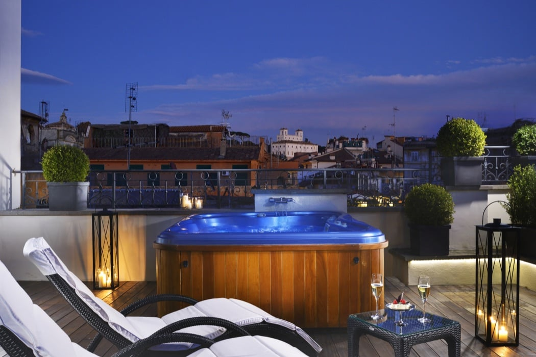 review the first luxury art hotel rome hotels