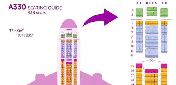 Review: WOW Air A330 Business Class America To Europe Via Reykjavik