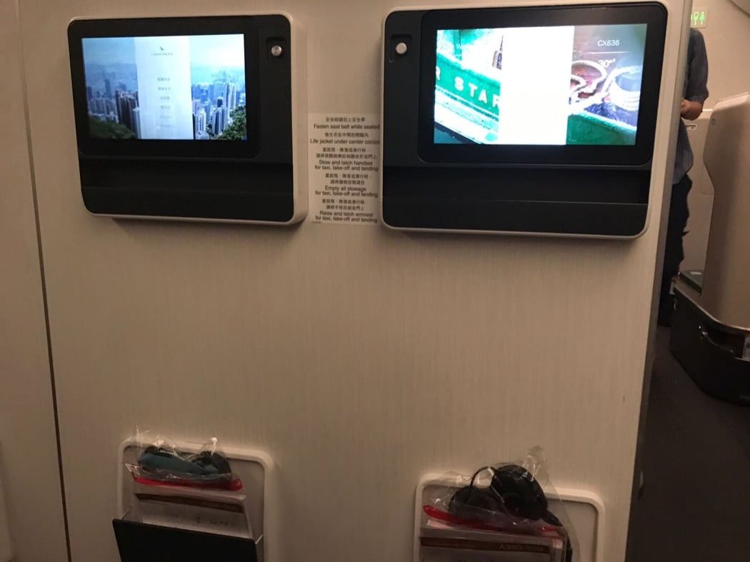 Flight Review: Cathay Pacific A350 Premium Economy Singapore to Hong Kong