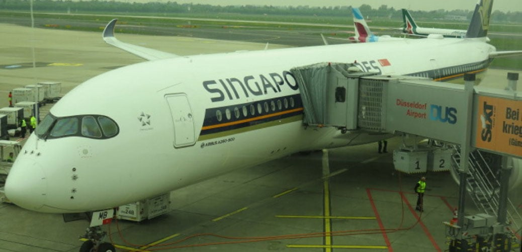 Flight Review: Singapore Airlines A350 Business Class Dusseldorf to ...