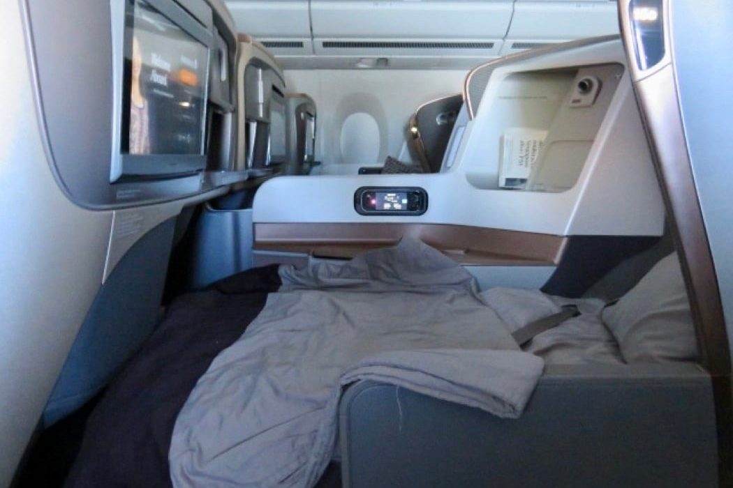 Flight Review: Singapore Airlines A350 Business Class Dusseldorf to Singapore