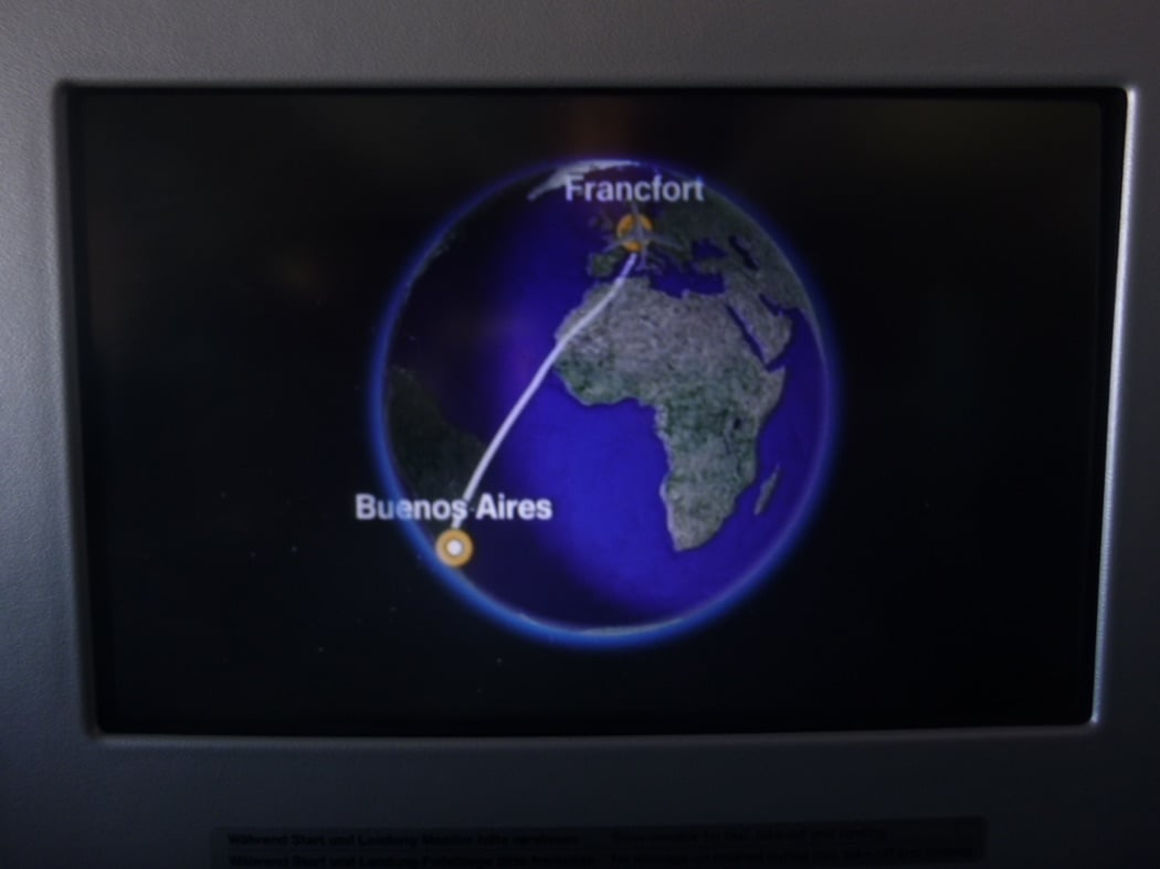 Flight Review: Lufthansa B747-8 Business Class Buenos Aires to Frankfurt