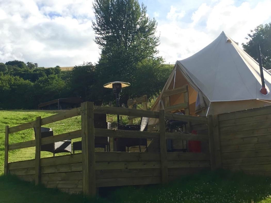 Review: Glampotel & Brandy House Farm, Knighton, Wales