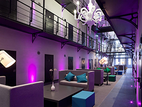 2 incredible nights in a converted prison in Roermond Holland