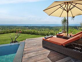 2 Nights in an Ocean View Pool Villa in Bali, Indonesia