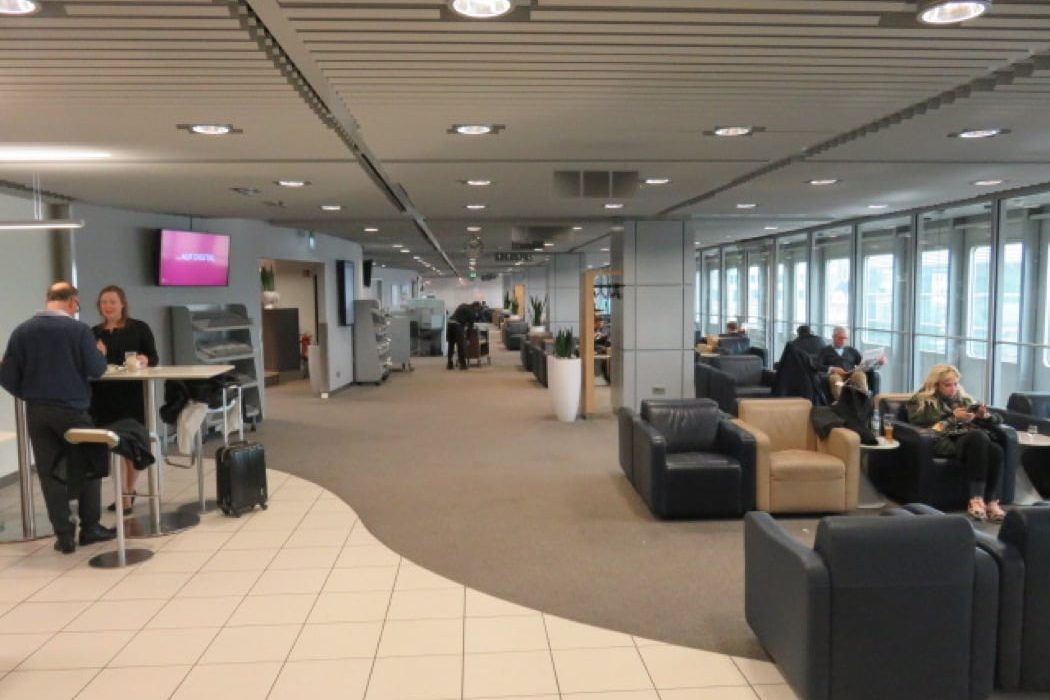 Review: Lufthansa Business Lounge At Dusseldorf Airport