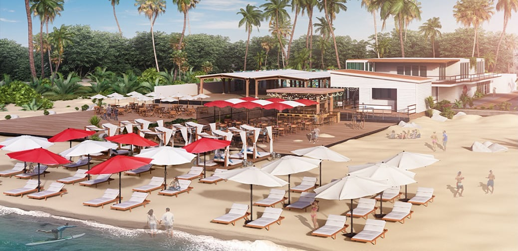 The World's First Airport Lounge On A Beach