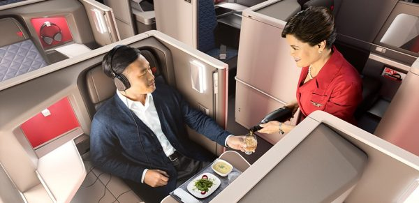 Delta Airlines Long Haul Business Class Flight Reviews
