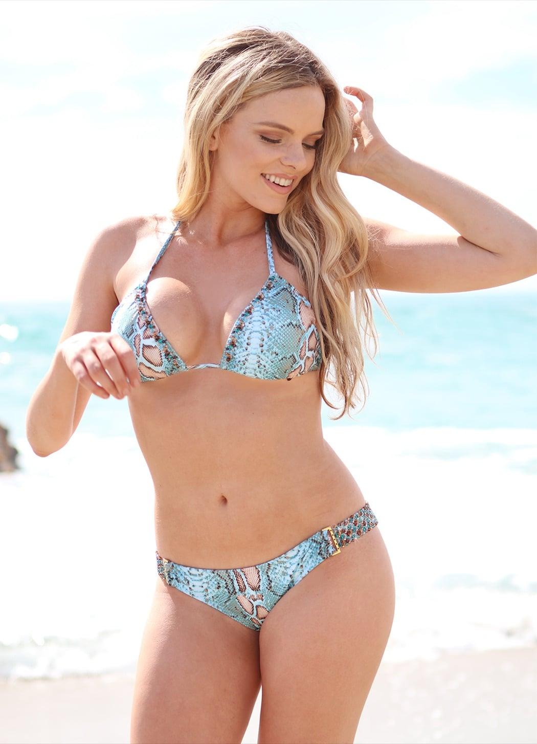Beach Candy Swimwear With A Touch Of Swarovski Sparkle