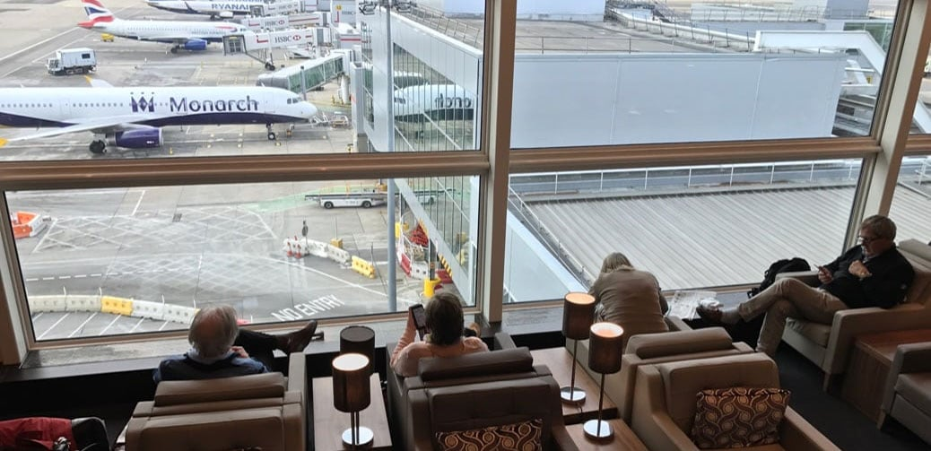 Best Airport Lounge At London Gatwick