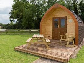 2 Nights for 4 Ppl in a Glamping Pod in East Riding, Yorkshire