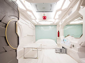 2 Nights for 1 person at the Capsule Hotel, Sydney, Australia