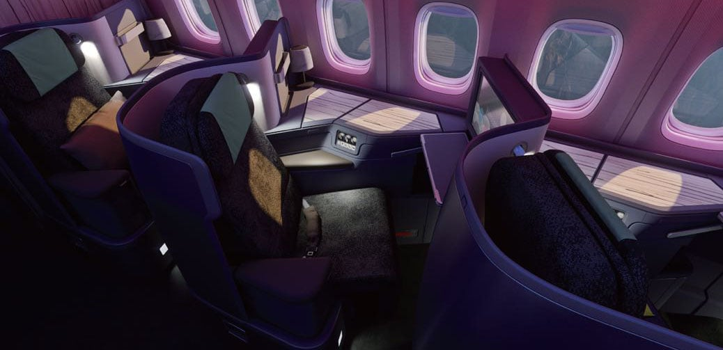 China Airlines Business Class Flight Reviews