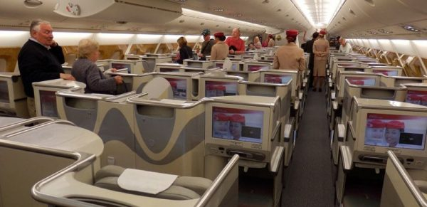 Emirates Business Class Flight Reviews