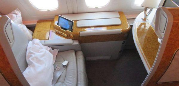 Emirates First Class Flight Reviews