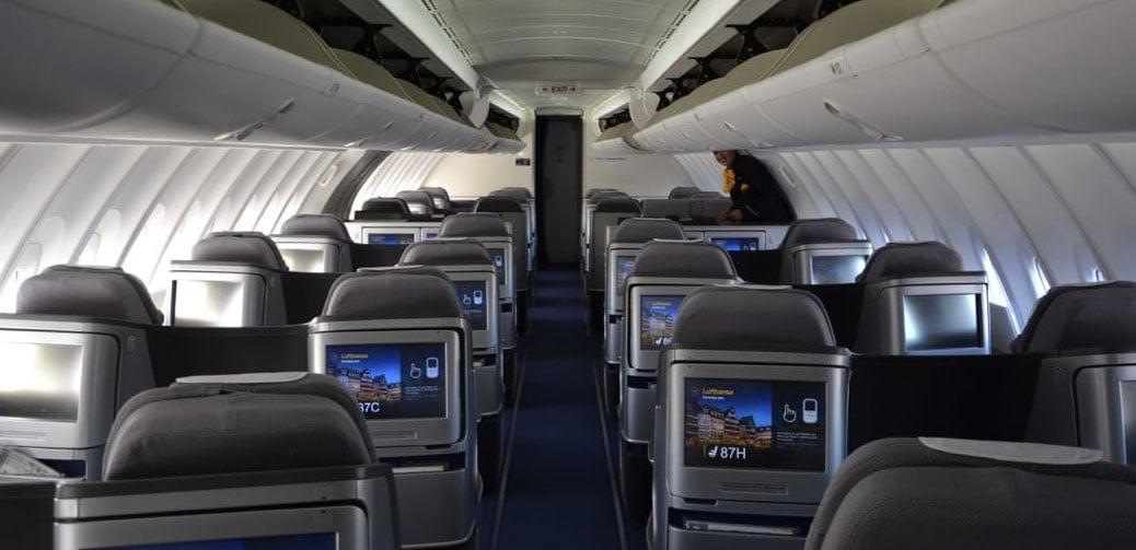 Lufthansa Long Haul Business & First Class Flight Reviews