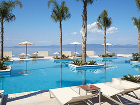 5 Nights at 5* Miraggio Thermal Spa Resort, Halkidiki, Greece