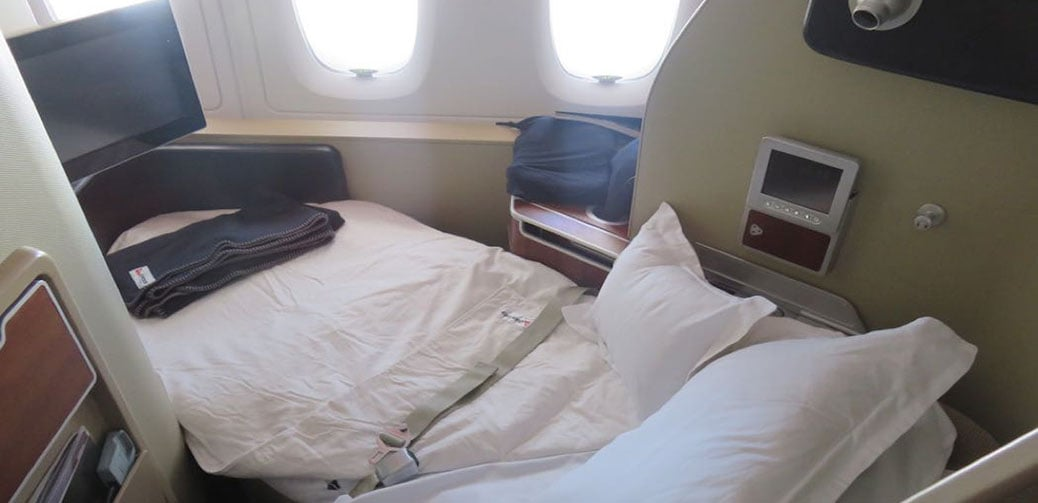 Qantas Long Haul First Class Flight Reviews