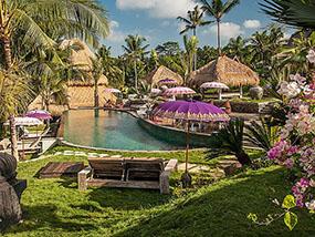3 Night Retreat at the Blue Karma Resort Ubud in Bali
