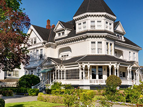 2 nights at The Pendray Inn & Teahouse in Victoria BC, Canada