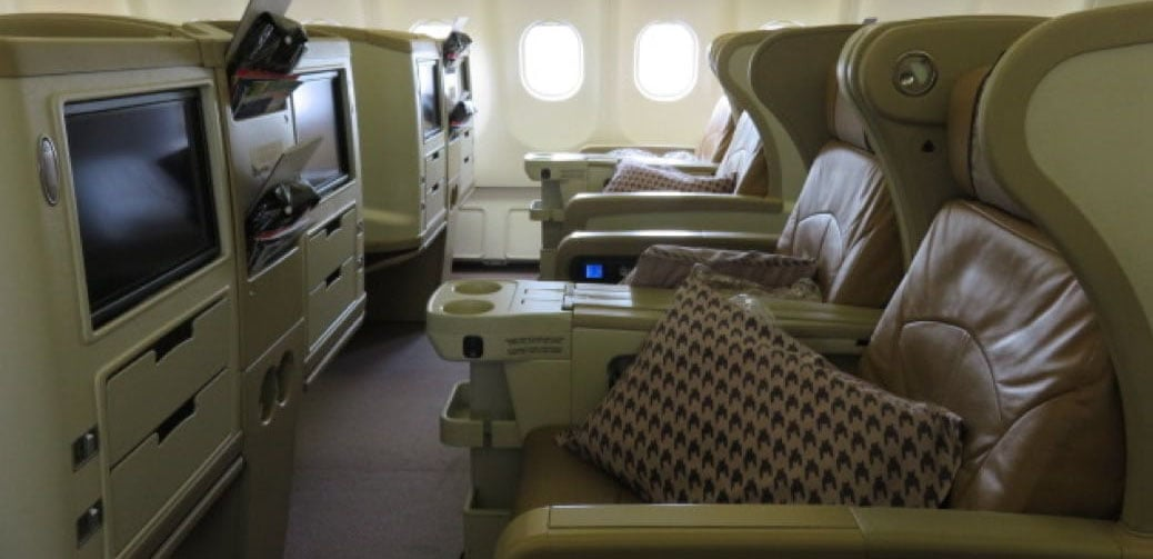 Singapore Airlines Business Class Flight Reviews
