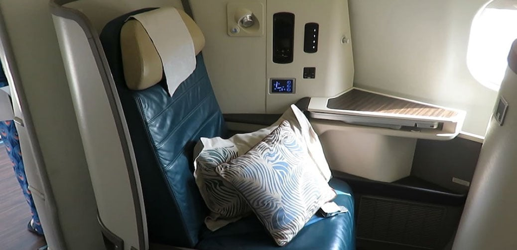 Sri Lankan Airlines Long Haul Business Class Flight Reviews