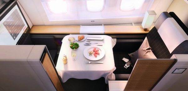 Swiss Airlines First Class Flight Reviews