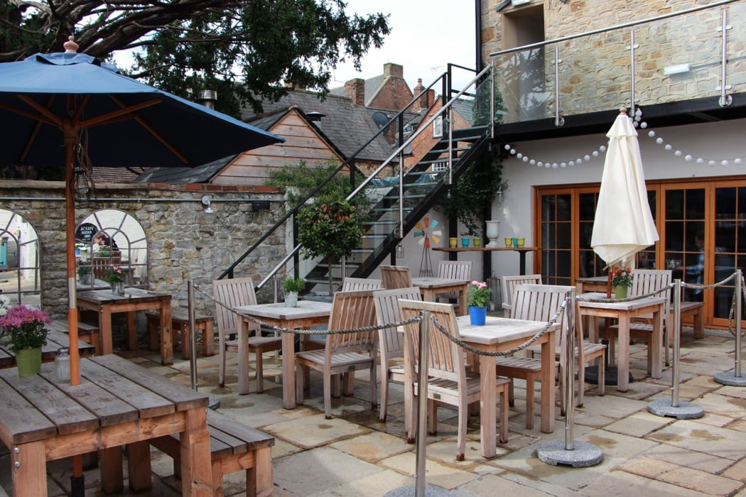 Hotel Review: The George Townhouse, Cotswolds