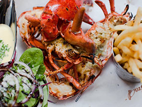 £100 meal for 2 at Burger & Lobster Leicester Square, London