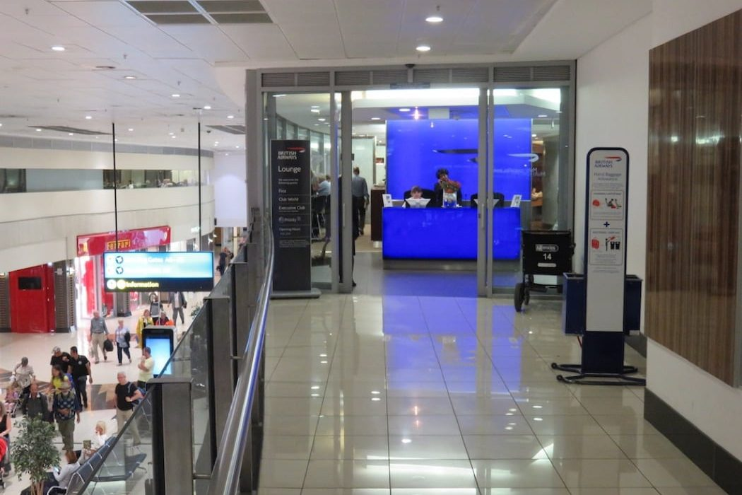 Review: British Airways Galleries First Class Airport Lounge, O.R. Tambo International