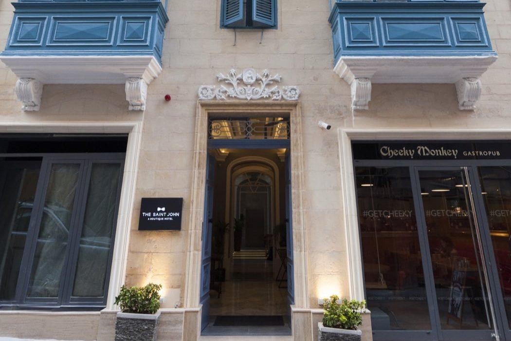 Review: The Saint John Boutique Hotel, Valletta, Malta