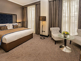 1 Night at The Westbourne Hyde Park Boutique Hotel in London