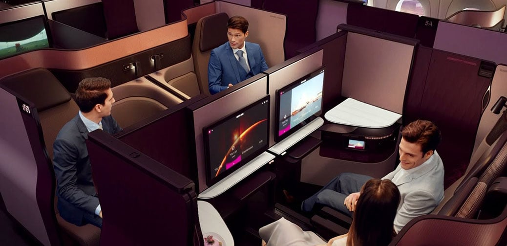 World's Best Airlines For Long Haul Business Class Flights