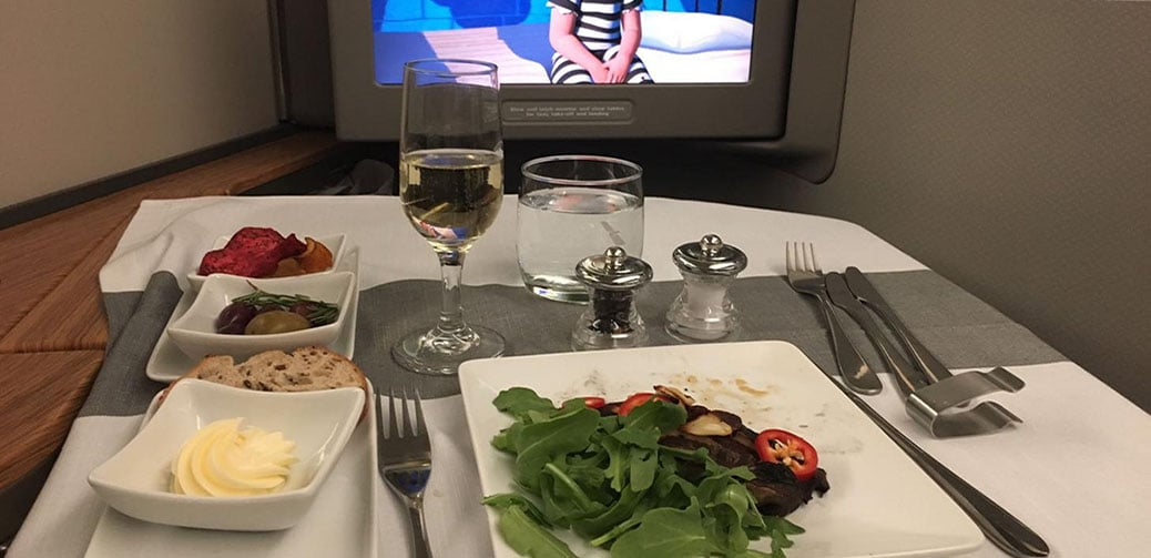 American Airlines First Class Flight Reviews