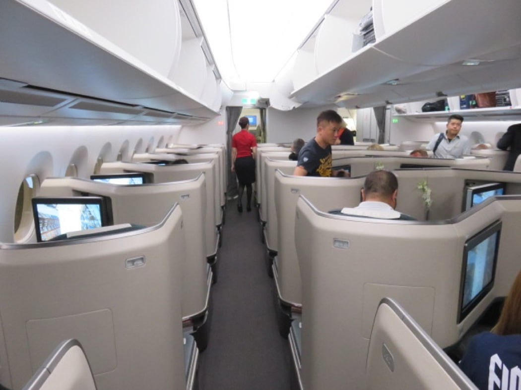 Flight Review: Cathay Pacific A350 Business Class