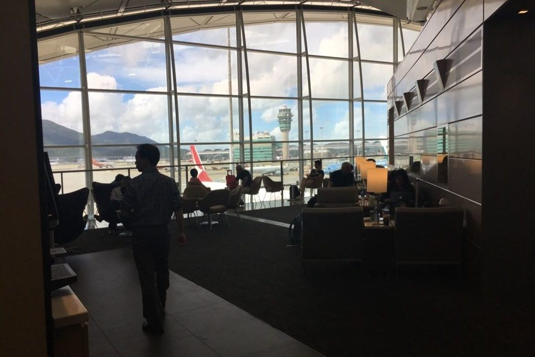 Review: United Club Lounge At Hong Kong International Airport