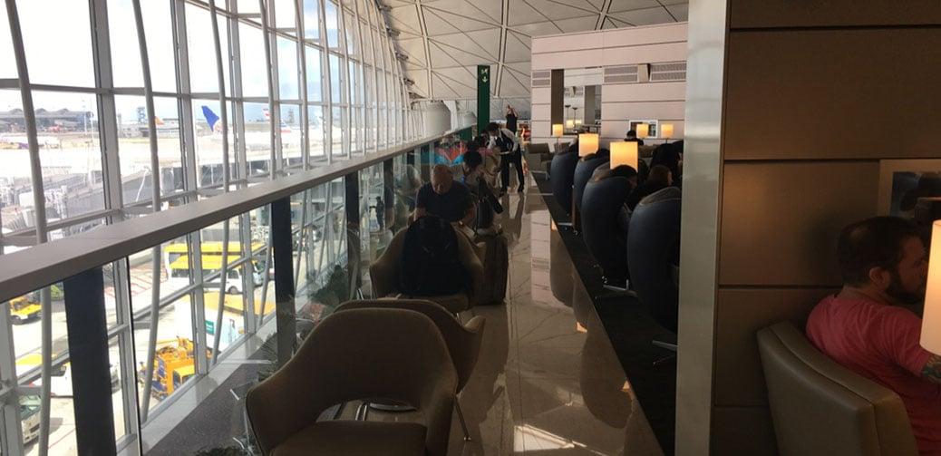 Review: United Club Lounge At Hong Kong International Airport